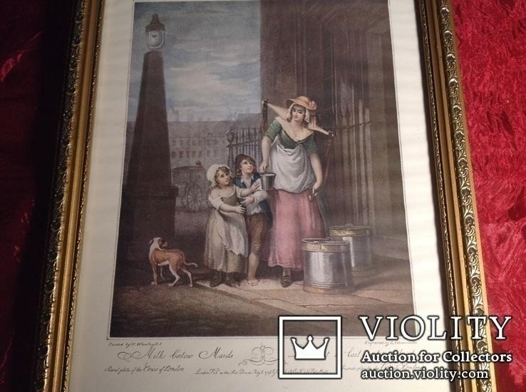 Картина в интерьер N 1 / Англия /. Репродукция., фото №3