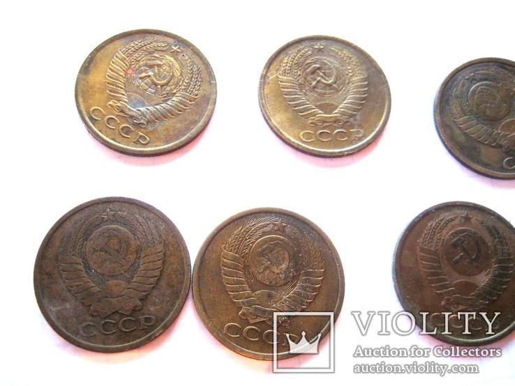 5 коп. 1975-1991 р. 10 штук усі роки різні, фото №8