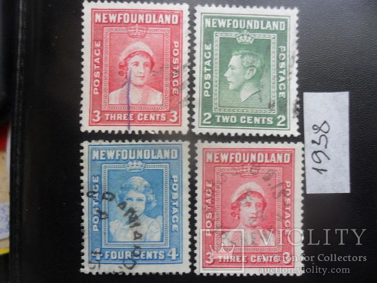 Британские колонии. Ньюфаундленд. 1938 г. гаш