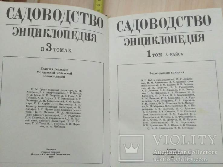 Садоводство Энциклопедия 1 том 1990р., фото №6