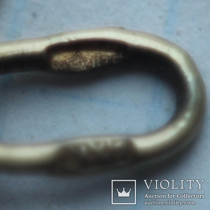 Кулон серебро СССР 875 проба, фото №6