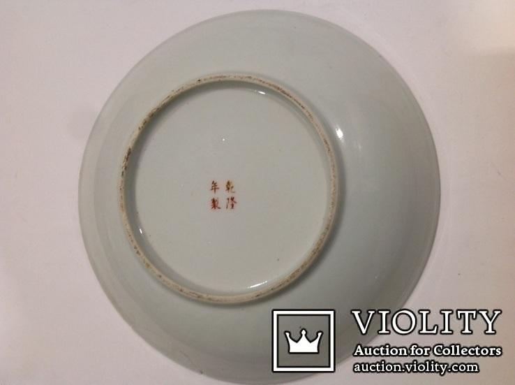 Тарелка - национальный Японский мотив/руч.роспись, фото №6