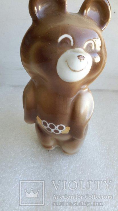 Статуэтка Мишка Олимпийский СССР, фото №6