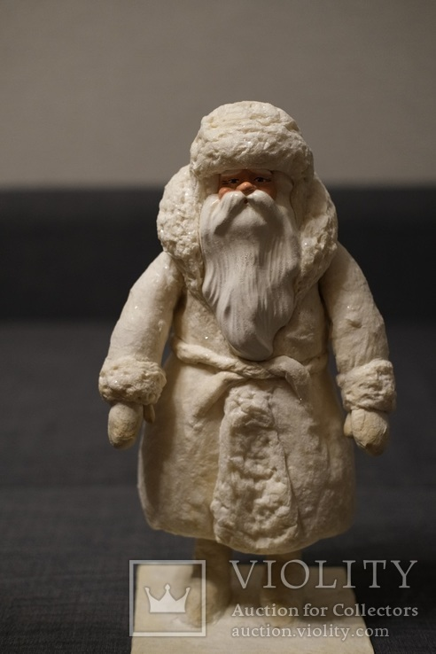 Дед Мороз 1950-60 годы 37 см Фабрика игрушек ''Победа'', фото №2