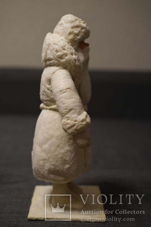 Дед Мороз 1950-60 годы 37 см Фабрика игрушек ''Победа'', фото №6