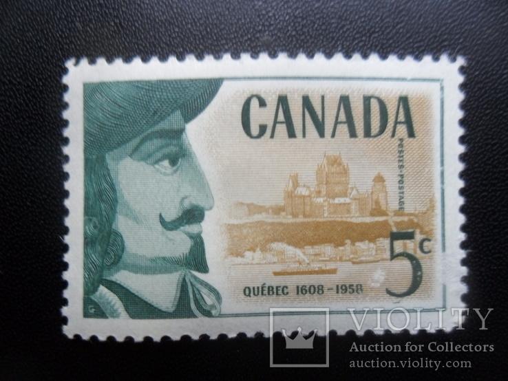 Корабли. Канада. 1958 г. марка MLH, фото №2