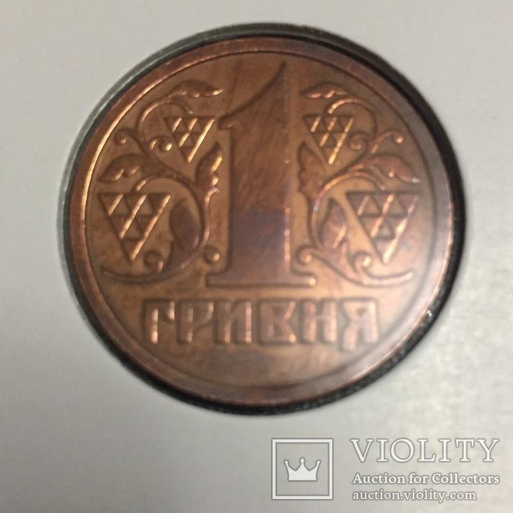 1 гривна  1996 года  копия ., фото №8