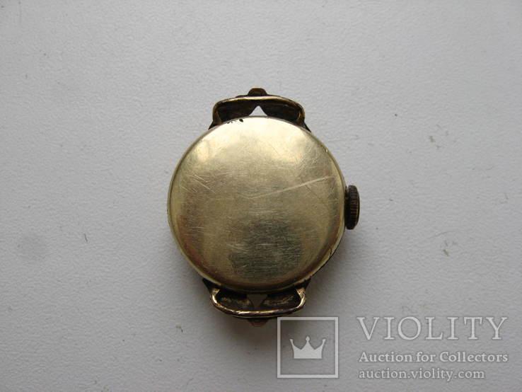 Часы швейцарские G * K позолота 20 микрон .1932 г. не рабочие, фото №4