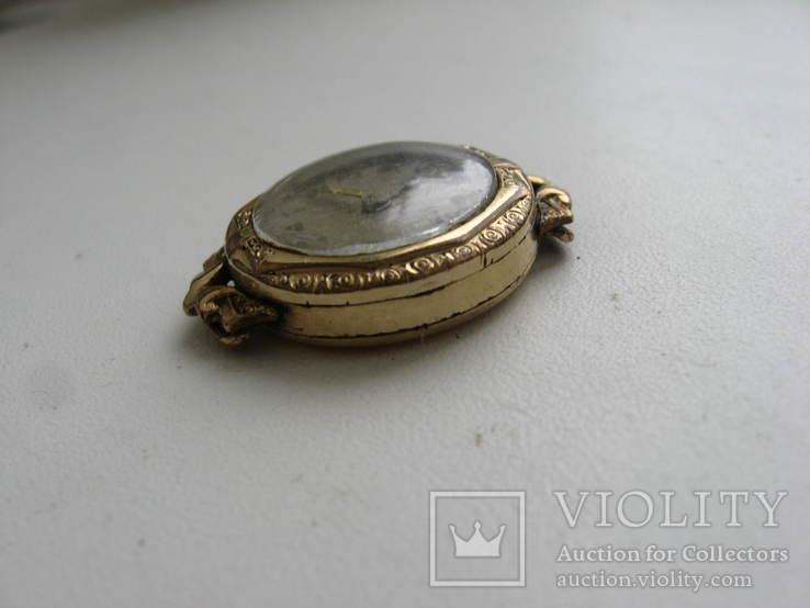 Часы швейцарские G * K позолота 20 микрон .1932 г. не рабочие, фото №6