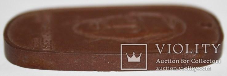 "Фарфоровый брелок Мейсен ""Технический колледж Дрездена им.А.Шуберта"", фото №4"