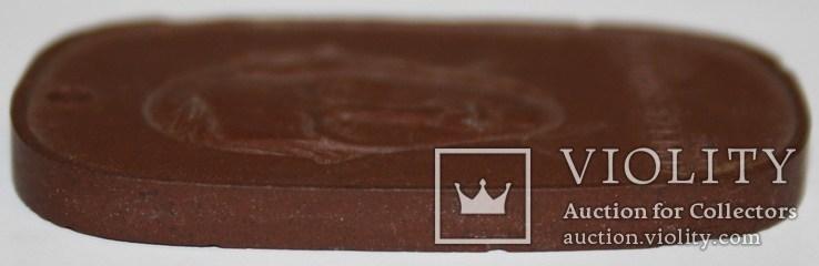 "Фарфоровый брелок Мейсен ""Технический колледж Дрездена им.А.Шуберта"", фото №7"