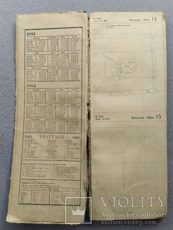 Настольный календарь 1950 года, фото №9