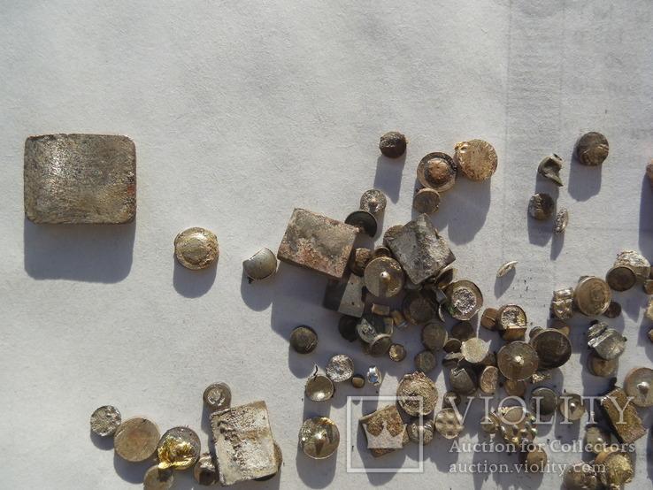 Серебро контакты ( магнит) 37,75 грамма, фото №4