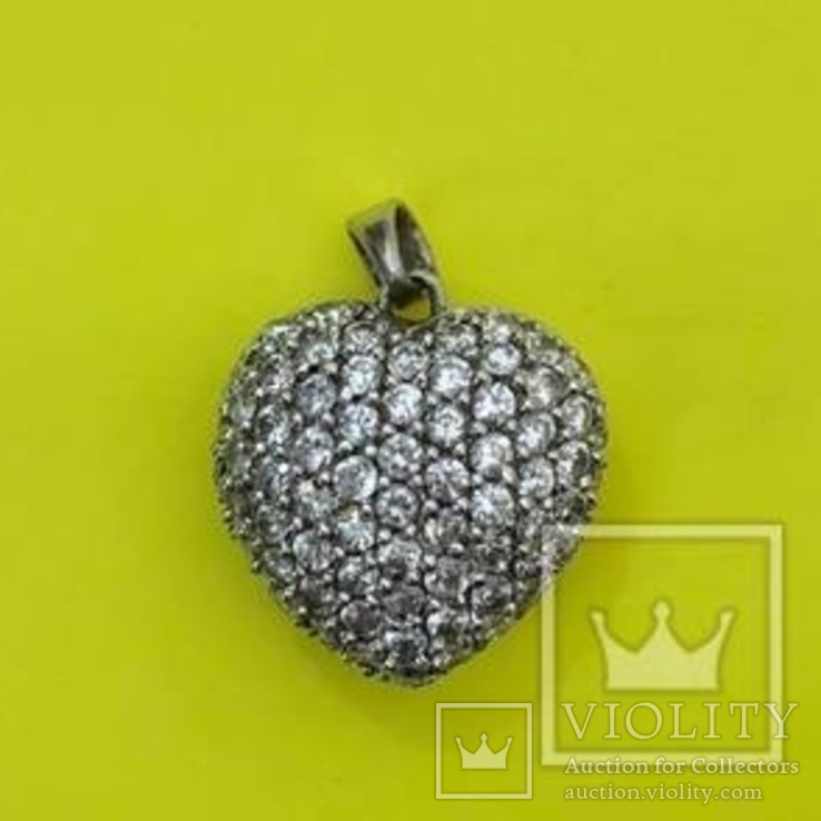 Кулон Срібло 925 5,90 грам., фото №2