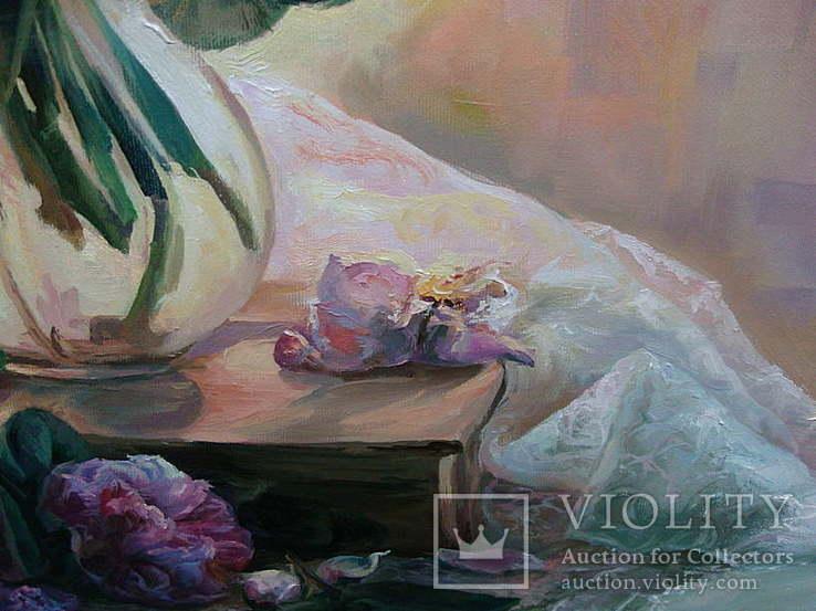 """""""Троянди"""" 60х70 см;полотно,олія, Півень С.В., фото №8"""
