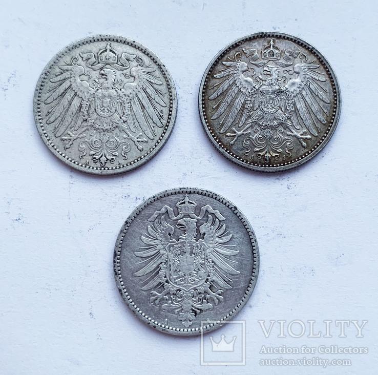 Марки 1881, 1889  и 1915 года. (3 шт.). Германия, фото №3