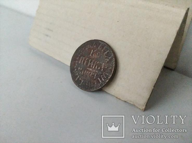 1 копейка ПЕТРА 1  1710 г, фото №7