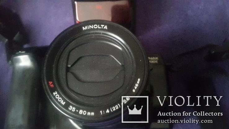 Японский фотоаппарат Minolta Dynax7000i c вспышкой, фото №4
