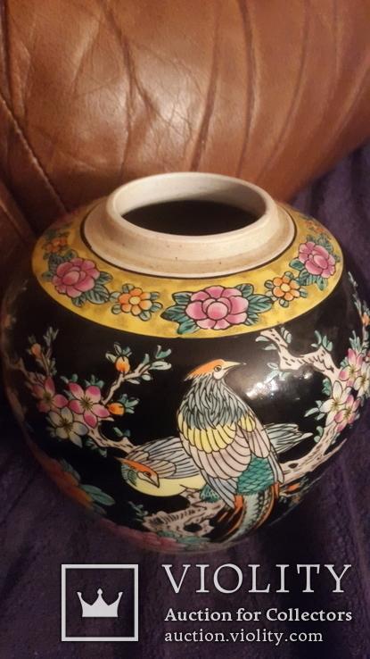 Старинная фарфоровая ваза Восток, фото №4