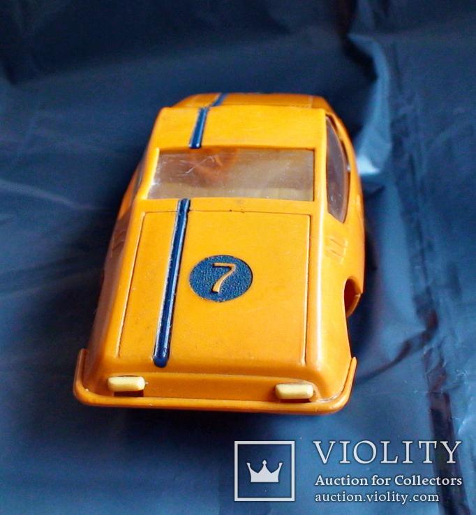 Игрушка СССР машинка гоночная инерционная, фото №4