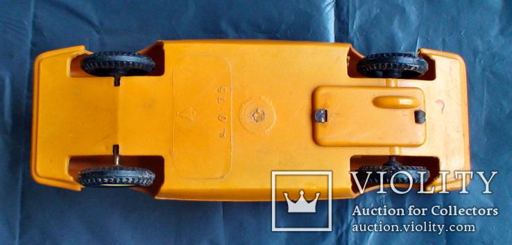 Игрушка СССР машинка гоночная инерционная, фото №6