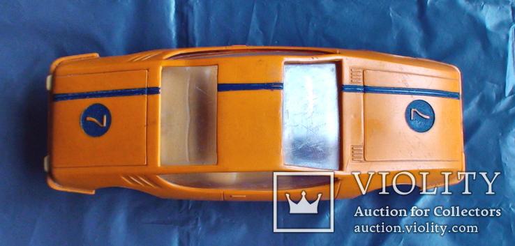 Игрушка СССР машинка гоночная инерционная, фото №9