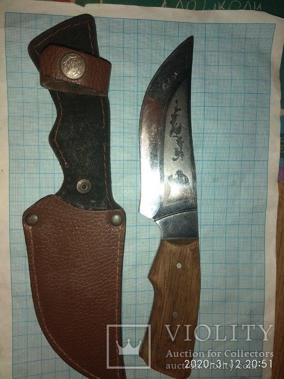 Нож в чехле, фото №2