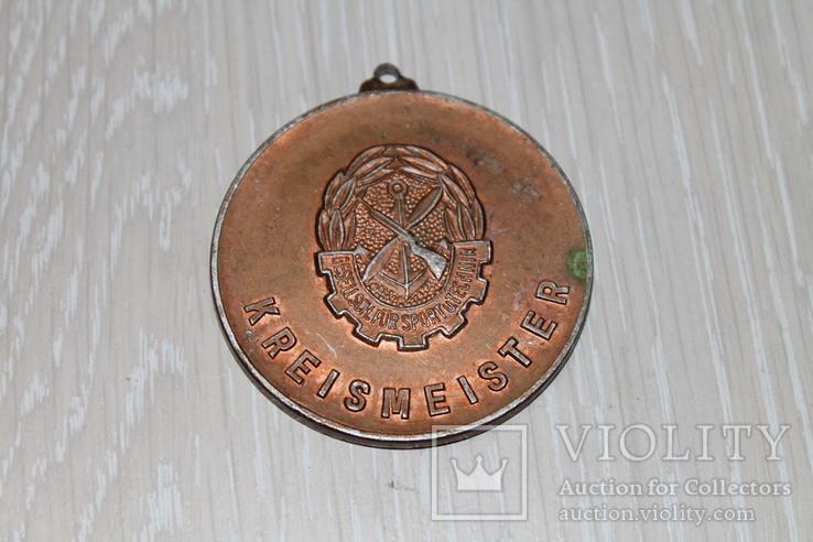 За мир и социализм. Круговой мастер. медаль ГДР, фото №3