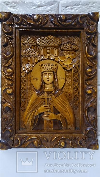 Икона Святая Людмила, фото №2