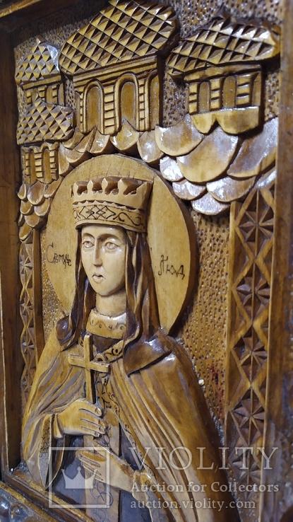 Икона Святая Людмила, фото №3