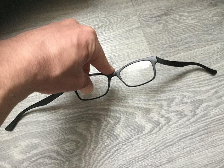 Неубиваемые силиконовые очки  для чтения зрения, фото №2