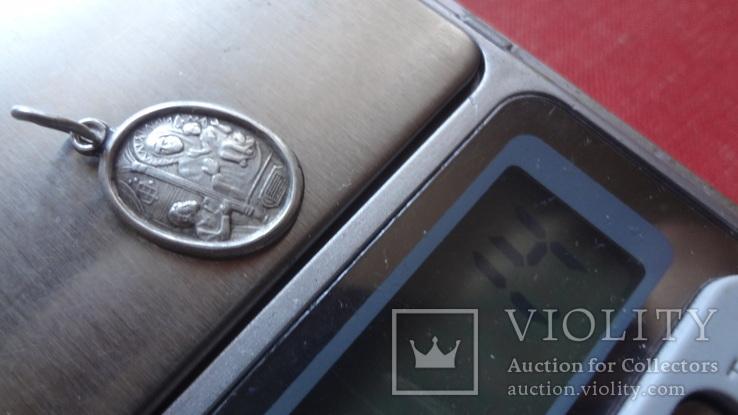 Кулон  серебро  Близнецы  --планш.3, фото №5