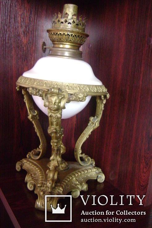 Лампа бронза., фото №4