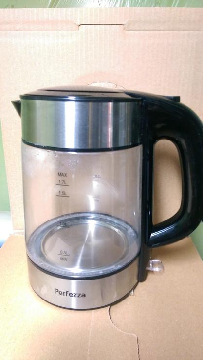 Чайник стекло новый, фото №3