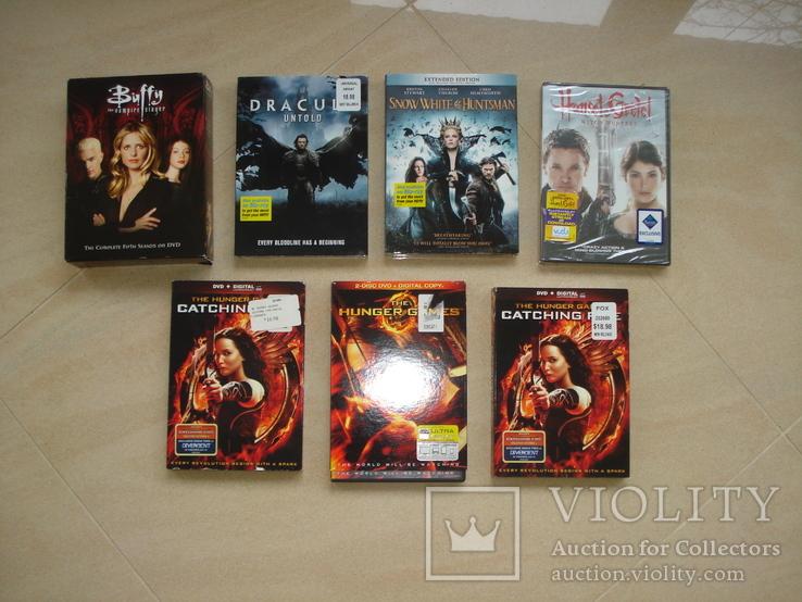 DVD с фильмами на англ. языке, фото №2
