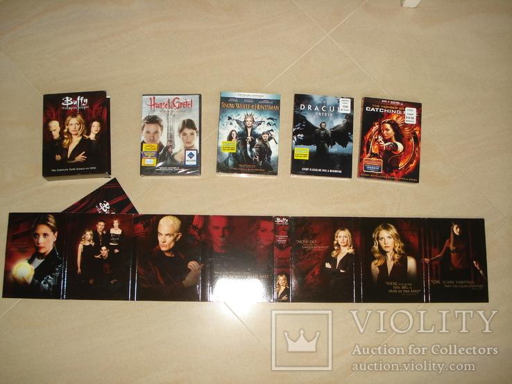 DVD с фильмами на англ. языке, фото №5