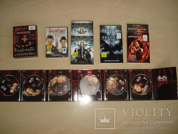 DVD с фильмами на англ. языке, фото №6