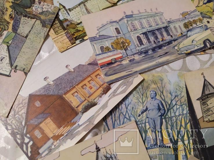 Набор открыток Псков 1971, фото №4