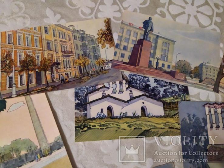 Набор открыток Псков 1971, фото №6