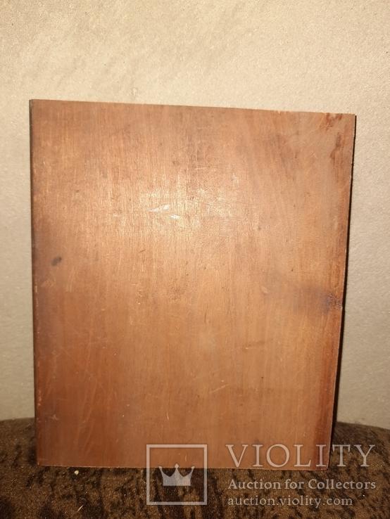 Иконная Доска 13,5 на 16,2 см., фото №3