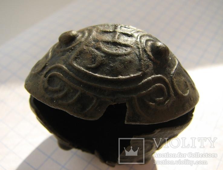 Колокольчик с иероглифами, фото №6