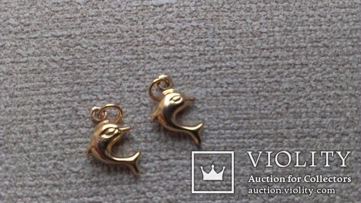 Золотые подвески от браслета., фото №6