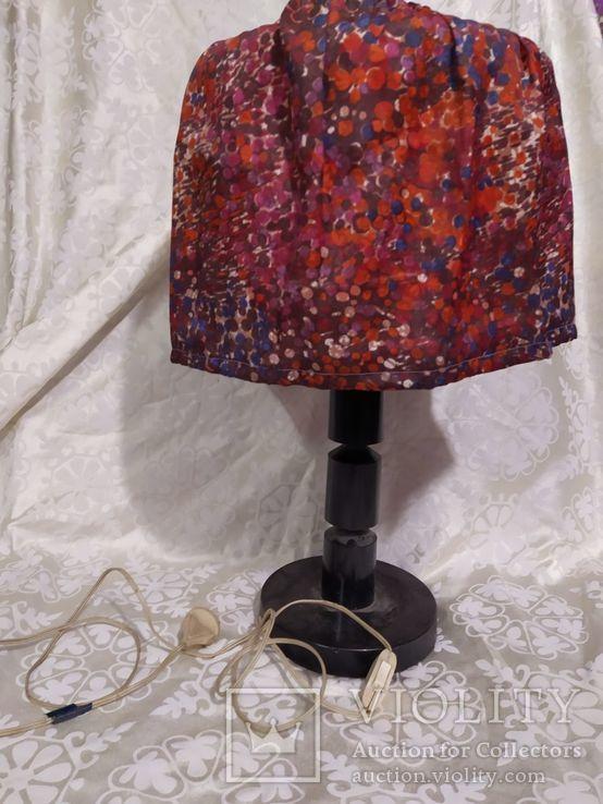 Настольная лампа estoplast ссср, фото №3