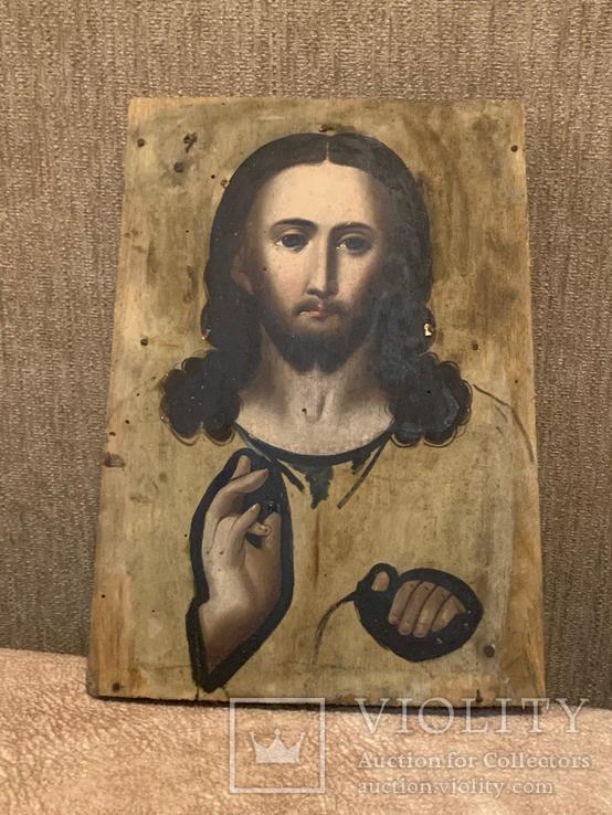 Икона Иисуса Христа Дерево, фото №2