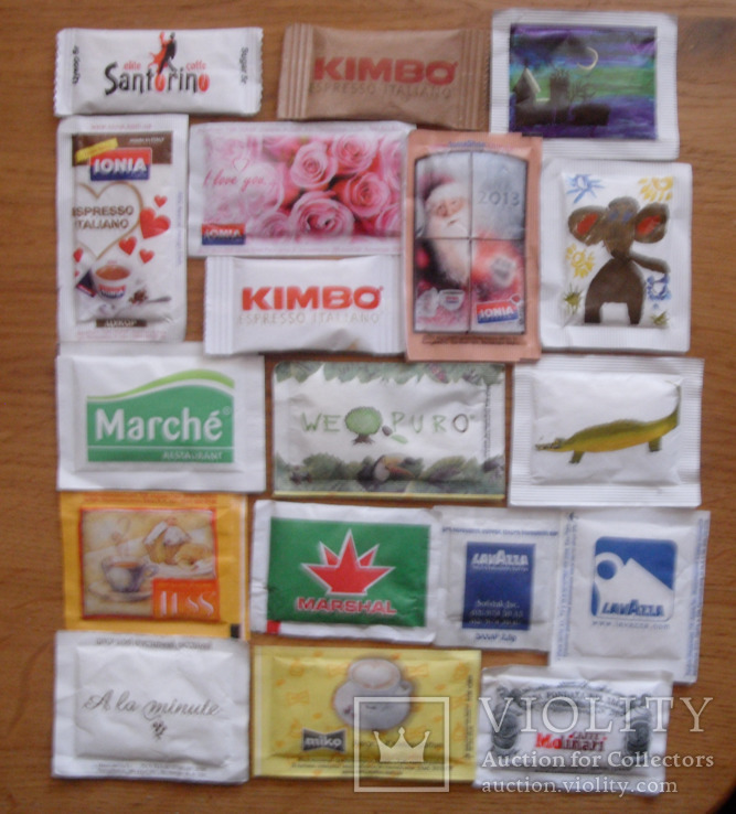Пакетики з цукром-18 шт., фото №3