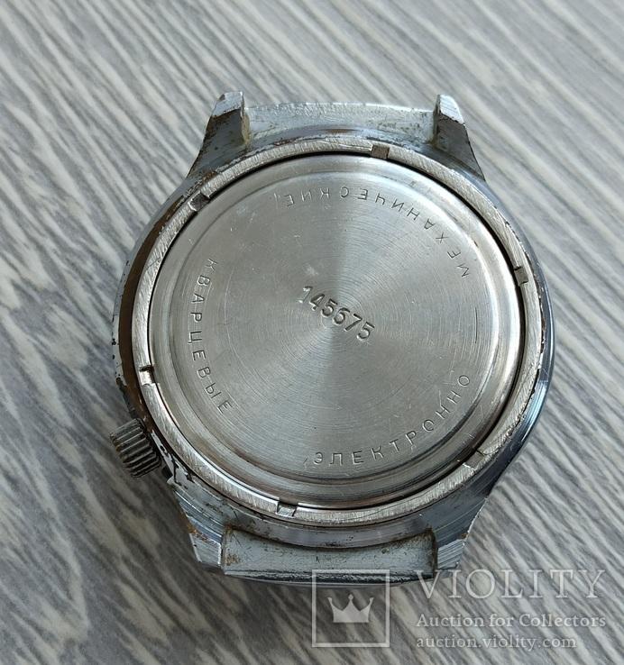 Часы. Луч / электронно-механические / синие, фото №10