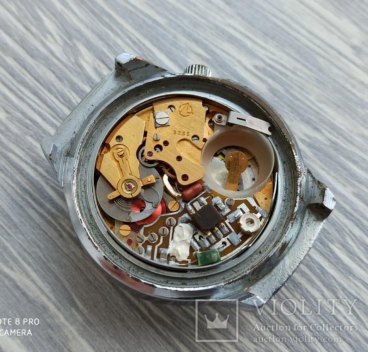 Часы. Луч / электронно-механические / синие, фото №11