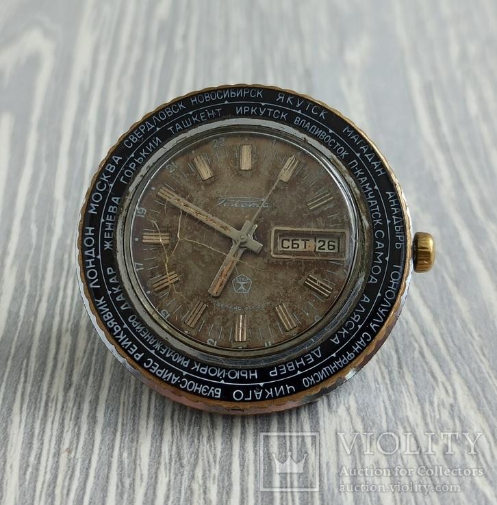 Часы. Ракета / Города / мех. 2628 Н, фото №2