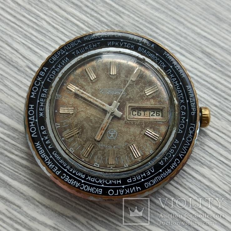 Часы. Ракета / Города / мех. 2628 Н, фото №3