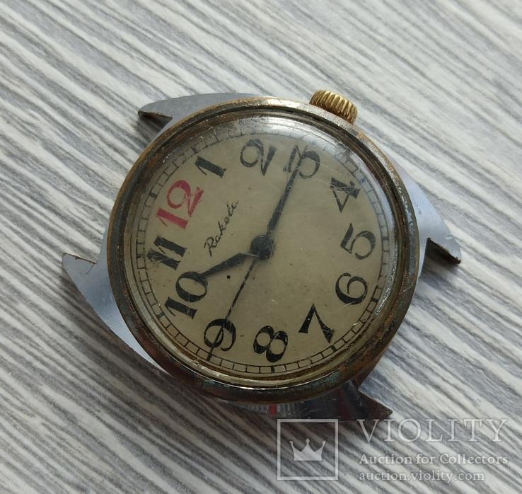 Часы. Ракета / 12 красная - на ходу, фото №3
